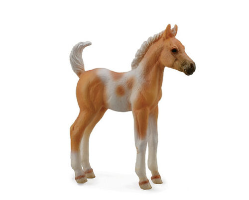 <><  Breyer CollectA 88669 Pinto Horse foal paint palamino exceptional beautiful