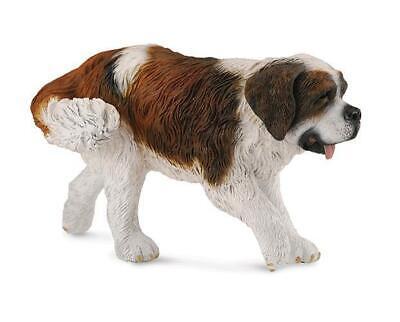 CollectA NEW * Saint Bernard * 88506 Dog Breyer Figure Toy Replica