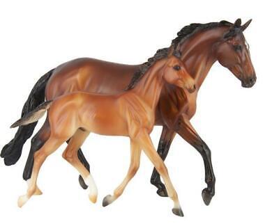 Breyer NEW * GG Valentine & Heartbreaker * Mare Foal Traditional Model