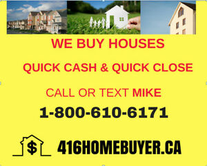 Want to Sell Your House - We Buy Cash