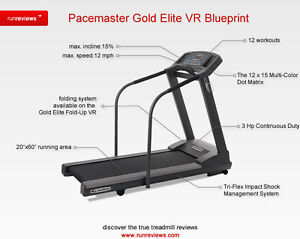 Electrical PaceMaster Gold Elite Treadmill $700 OBO