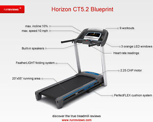HORIZON CT5.2 TREADMILL