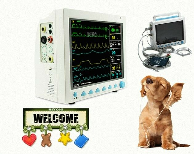 Veterinary Vital Sign Patient Monitor,6 Parameters  Us Seller Portable Contec
