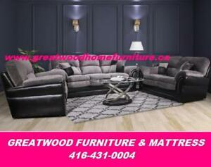 CANADIAN MADE SOFA & LOVE SEAT ...$1199 ONLY