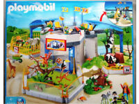 Hale - Playmobil zoo and caravan