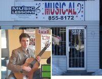 Music-Al Classical Guitar Lessons (Rayside Balfour/Sudbury)