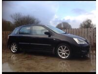 Black Honda Civic 2005