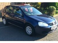 2007 VOLKSWAGEN GOLF S 80 1.4,5DR,AC,FULLY HPI CLEAR