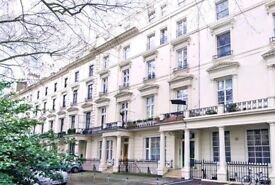 Stylish Two Double (2 en-suite) Apartment To Let in this stucco-fronted terrace period building W2