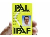 IPAF 3a & 3b Cherry picker Scissor Lift operator available CSCS card