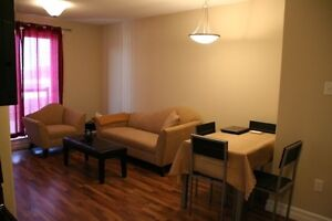 Furnished 1 bedroom condo, downtown, all included, Avail NOW !!