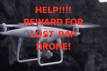 Wanted: CASH REWARD FOR LOST DRONE!