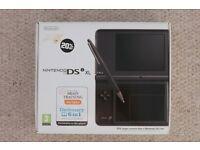 Nintendo DSi XL with loads of games: Pokemon, Professor Layton, etc