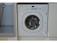 RECONDITIONED !!! BAUMATIC BWD1212 INTEGRATED WASHING MACHINE IN WHITE WITH 6 MONTHS WARRANTY