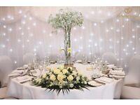 •Wedding• Tall centre piece vase x 10