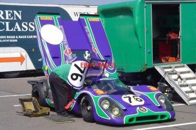 PHOTO  SILVERSTONE CLASSIC 2006 PORSCHE 917K