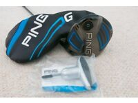 Ping G 9º Driver with Ping Tour shaft