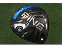 Ping G driver 12 deg