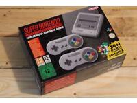 Brand new sealed SNES super nintendo mini console
