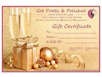Gift certificates available!!!