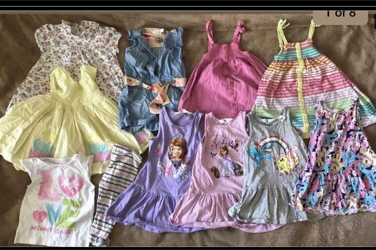 7e5b7173dc55 BABY GIRL 12-18 Months BUNDLE OD DRESSES