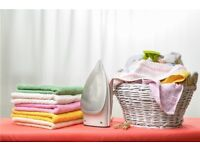 Ironing service with pick up and delivery, domestic &/or office cleaner