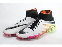 Nike Hyper Venom Phantom sock boots in excellent condition worn only 4 times size 5.5 cost £120
