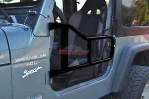 Steinjager Trail Door Tube Doors PAIR  Jeep Wrangler TJ 1997-2006 J0029673