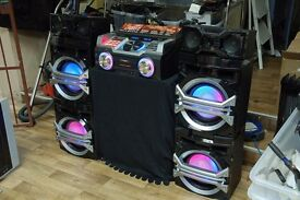 Panasonic Max DJ Boombox only £350!!!ono or Swap for 49inch to 65inch T.V