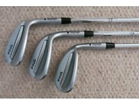 Ping Glide Wedges - new and unused, 50º, 54º and 58º