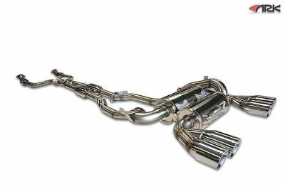 ARK Perfomance DT-S Cat-Back Exhaust System Polished for 2008-2013 BMW E92 M3