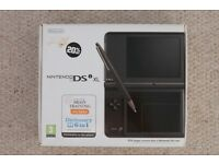 Nintendo DSi XL with loads of games: Pokemon, Professor Layton, etc