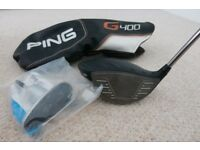 Ping G400 Max 10.5º Driver with Ping Tour shaft