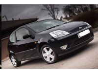 Ford Fiesta zetec 1.3 black