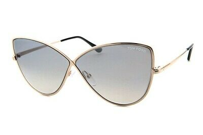 Tom Ford TF 536 28Z FT0536 Sean Gold Frame RosePink Gold Mirror Aviator Sunglass