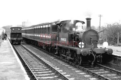 PHOTO  SR EX LB&SCR A1 CLASS  0-6-0T LOCO NO 27 PRIMROSE ON THE BLUEBELL RLY