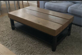 Large coffee table handmade