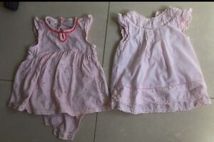 2 PUREBABY DRESSES BABY GIRL - size 000 & size 0 Dresses $15 for both Aspendale Gardens Kingston Area Preview