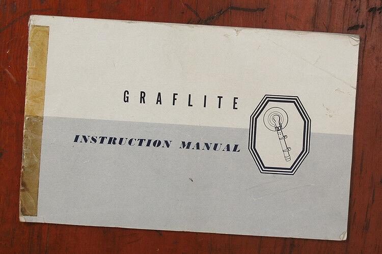 NIKON GRAFLITE INSTRUCTION MANUAL/132185