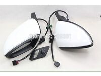 Golf gti white wing mirrors