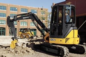 Mini Excavating and Skid Steer Services