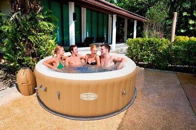 ☀️PALM SPRINGS☀️Lay-Z Spa 4-6per HOT TUB BRAND NEW 📦120AirJe‼️TRUSTED SELLER 💯