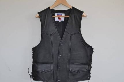 Leather Vest - Womens