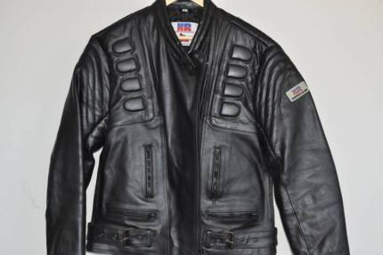 Leather Motorcycle Jacket - Womens