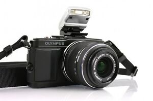 Olympus E-PL5 Mirrorless Digital Camera with 14-42mm Lens