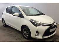 Toyota Yaris FROM £36 PER WEEK!