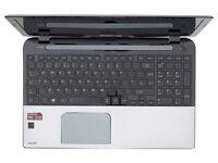 Toshiba Sattelite S50D-A-10G 1TB HDD AMD A10 Quad Core w/ AMD Dual Graphics
