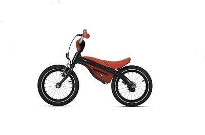 Original BMW Kidsbike Schwarz Orange Laufrad Fahrrad  *NEU/OVP*
