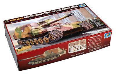 Trumpeter 9360378 Deutscher Geschützwagen Tiger 1:35 Panzer Modellbausatz