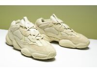 yeezy 500 - blush - worn once - mint condition - uk size 11